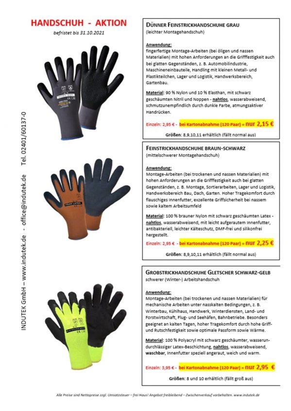 Handschuh-Aktion 10-2021