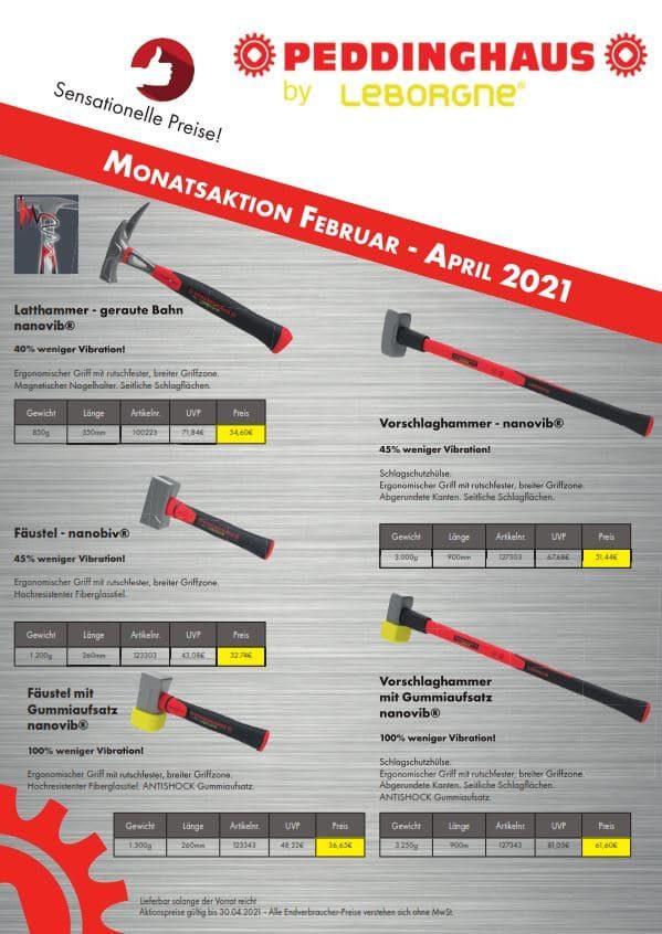 Peddinghaus Aktion 02-04-2021